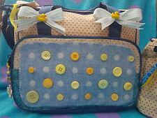 Vendita carino bagno tempo lusso mamma Baby Pannolino Diaper CHANGING BAG Bottle Holder
