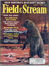 8/1966 Field and Stream Magazine