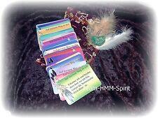 Schamanische Orakel Karten mit individuellen Glücksbringer Meditation