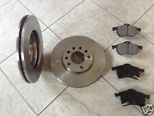 VAUXHALL ASTRA H 04-09 TWO 280 MM FRONT BRAKE DISCS & A SET OF FOUR BRAKE PADS