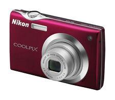 Nikon COOLPIX S205 12.0MP Digital Camera - Red