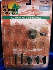 Ultimate Soldier ACTION ACCESSORIES SET Hands +More