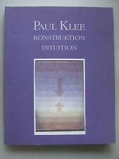 Paul Klee Konstruktion Intuition 1991