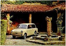 Cartolina Auto Autobianchi Bianchina Panoramica 49° Salone Internazionale De