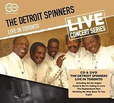 Live in Toronto 5018755509216 by Detroit Spinners CD With DVD