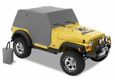 JEEP WRANGLER TJ 97 - 06 BESTOP ALL WEATHER TRAIL COVER IN GREY FOR OPEN JEEP