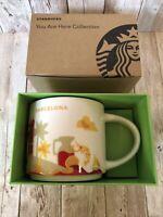 Starbucks You Are Here Series Barcelona Mug, 14 Oz