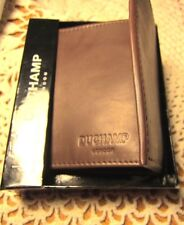 Duchamp  Trifold leather Wallet London RFID Blocking msrp $80