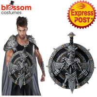 AC731 Destroyer Shield Sword Set Gladiator Roman Spartan Viking Warrior Costume