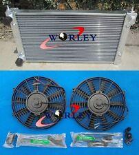 ALUMINIUM ALLOY RADIATOR & Fans VW GOLF MK1 MK2 GTI SCIROCCO 1.6 1.8 8V MT