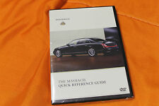MAYBACH Quick Reference Guide DVD - no brochure Prospekt Maybach 57 62
