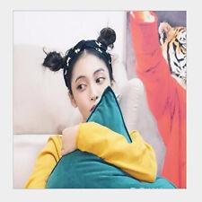 Korea Style Sport Hairbands Women Hair Hoops Printing Female Retro Headscarfes