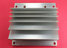 "Heatsink Aluminum 3.75"" X 3.83""(95mm x 97mm) - Drilled For 2 Stud Mount"