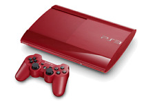 SONY Playstation 3 PS3 Super Slim 500GB Console Red *VGC*+Warranty!