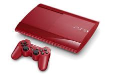 SONY Playstation 3 PS3 Super Slim 500GB Console Red *VGC*+Warranty!