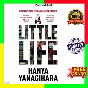 A Little Life by Hanya Yanagihar (Paperback Book) FAST & FREE SHIPPING!