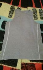 RUSSELL ATHLETIC Vest Tank top Gym Sports Running in Grey Size Large 10-12