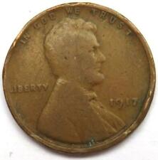 1917 USA Lincoln One Cent Coin.