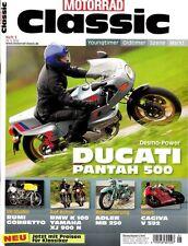 MC1205 + DUCATI Pantah 500 + BMW K 100 + YAMAHA XJ900N + MOTORRAD CLASSIC 5/2012