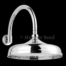 "Hudson Reed Head 12"" Chrome Shower Head And Curved Fixed Arm"