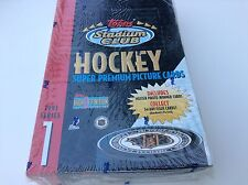 NHL 1993 Topps Staduim Clum Series 1 HighDef Cards Factory Sealed 24pk Box