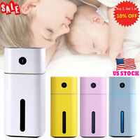 Office Ultrasonic Aroma Essential Diffuser Air Humidifier Purifier Aromatherapy