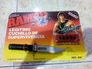 """Rambo """"force of freedom"""" toy knife"""