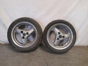 Peugeot Speedfight 1 2 50 100 - Front & Rear Wheels