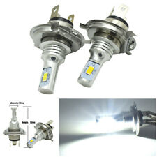 Pair 9003 / H4 / HB2 CREE LED Headlight Kits 80W 6000K 4000LM Replacement Bulbs