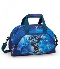 Eastwick BLUE SKATER Sports Travel Gym Bag Holiday Weekend Swim Duffel Bag