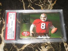 1995 ACTION PACKED ARMED FORCES-PROMO #AF4 CARD STEVE YOUNG PSA GRADED NM-MT 8