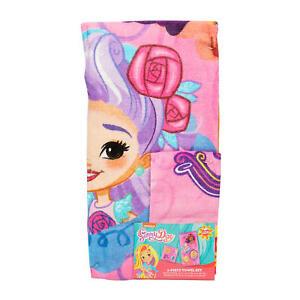 New 2 Piece Sunny Day Towel Set Bath Towel/Washcloth Set