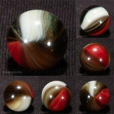 GORGEOUS Whispy Master Made Sunburst Vintage Marble 5/8 Mint hawkeyespicks