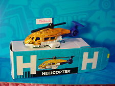 "2016 Matchbox Learning Blox ""H"" HELICOPTER~SEA HUNTER☆Orange/White;RESCUE☆box"