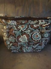 VERA BRADLEY JAVA BLUE CARRY ALL BAG - RARE - USED BUT MINT CONDITION