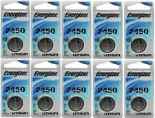 40 Super Fresh Energizer CR2450 ECR 2450 3v LITHIUM Coin Cell Battery Exp. 2026