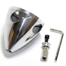 4 slot Aluminum Spinner 82mm /3.25in for nitro glow engine 4-blade propeller RC