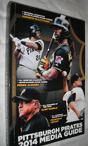 2014 PITTSBURGH PIRATES MEDIA GUIDE-Be Unforgetable-ROOT SPORTS-150