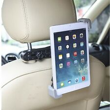 iPad 2 3 4 Mini Air & Tablet Black in Car Back Seat Headrest Holder Stand Mount