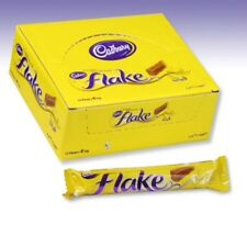 Cadbury`s Flake Milk Chocolate Bar Wrapped Original Cadbury 48 Bars FULL BOX