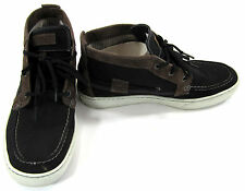 Timberland Boat Shoes Earthkeepers Moc Toe Chukka Black/Brown Boots Size 10