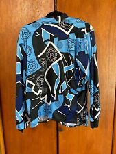 Nice Blue Pearl Izumi men's long sleeve cycling top Size Medium
