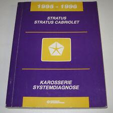 Werkstatthandbuch Chrysler Stratus Cabriolet Karosserie Systemdiagnose 1996!