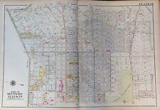 1907 East Flatbush Brooklyn, New York Kingston-Ralph G.W. Bromley Atlas Map