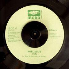 "NEW 7"" Noel Ellis - Zion  /  Lone Ark Riddim Force - Version"
