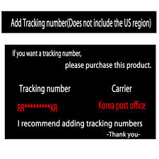 Additional tracking number $ 3.5