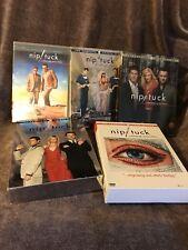 Nip Tuck DVD Series 1, 2, 3, 4 & 5 pre-owned