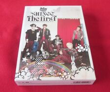 """SHINee """"The first"""" JAPAN 1st  Limited Edition CD + DVD + Booklet + MINI calendar"""