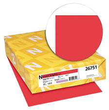 Exact Color Copy Paper 8 12 X 11 Inches 20 Lb Bright Red 500 Sheets