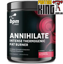 BPM LABS ANNIHILATE STRAWBERRY WATERMELON 50 SRV INTENSE THERMOGENIC FAT BURNER